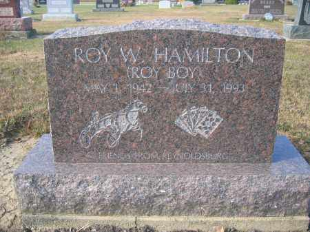 HAMILTON, ROY W. - Union County, Ohio | ROY W. HAMILTON - Ohio Gravestone Photos