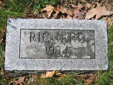 HAMILTON, RICHARD - Union County, Ohio | RICHARD HAMILTON - Ohio Gravestone Photos