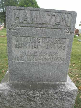 HAMILTON, SALLIE - Union County, Ohio | SALLIE HAMILTON - Ohio Gravestone Photos