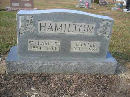 HAMILTON, MYRTLE - Union County, Ohio | MYRTLE HAMILTON - Ohio Gravestone Photos