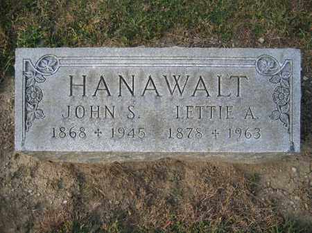 HANAWALT, JOHN S. - Union County, Ohio | JOHN S. HANAWALT - Ohio Gravestone Photos