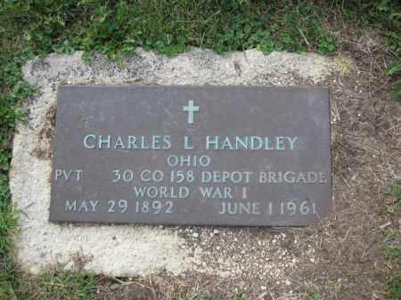 HANDLEY, CHARLES L. - Union County, Ohio | CHARLES L. HANDLEY - Ohio Gravestone Photos
