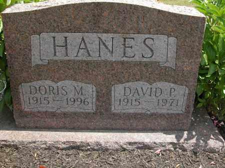 HANES, DAVID P. - Union County, Ohio | DAVID P. HANES - Ohio Gravestone Photos