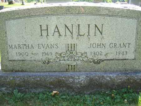 HANLIN, JOHN GRANT - Union County, Ohio | JOHN GRANT HANLIN - Ohio Gravestone Photos