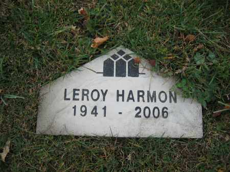 HARMON, LEROY - Union County, Ohio | LEROY HARMON - Ohio Gravestone Photos
