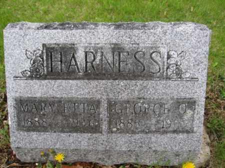 HARNESS, MARY ETTA - Union County, Ohio   MARY ETTA HARNESS - Ohio Gravestone Photos
