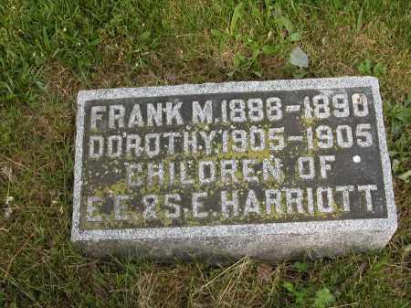 HARRIOTT, DOROTHY - Union County, Ohio   DOROTHY HARRIOTT - Ohio Gravestone Photos