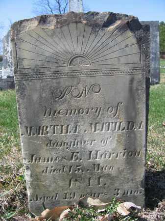 HARRIOTT, MARTHA MATILDA - Union County, Ohio | MARTHA MATILDA HARRIOTT - Ohio Gravestone Photos