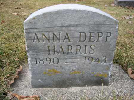 HARRIS, ANNA DEPP - Union County, Ohio | ANNA DEPP HARRIS - Ohio Gravestone Photos
