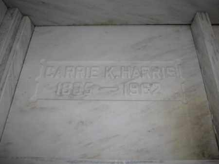 HARRIS, CARRIE K. - Union County, Ohio | CARRIE K. HARRIS - Ohio Gravestone Photos