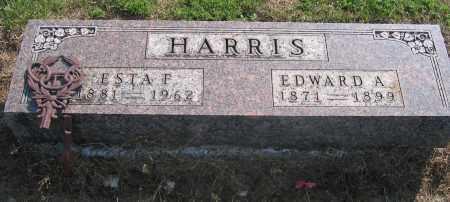 HARRIS, ESTA F. - Union County, Ohio | ESTA F. HARRIS - Ohio Gravestone Photos