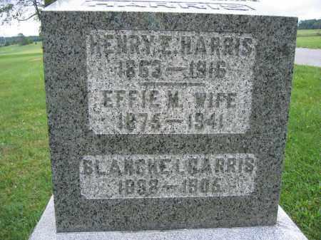HARRIS, HENRY E. - Union County, Ohio | HENRY E. HARRIS - Ohio Gravestone Photos
