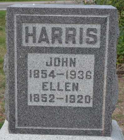 HARRIS, ELLEN - Union County, Ohio | ELLEN HARRIS - Ohio Gravestone Photos