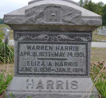 HARRIS, ELIZA A. - Union County, Ohio | ELIZA A. HARRIS - Ohio Gravestone Photos