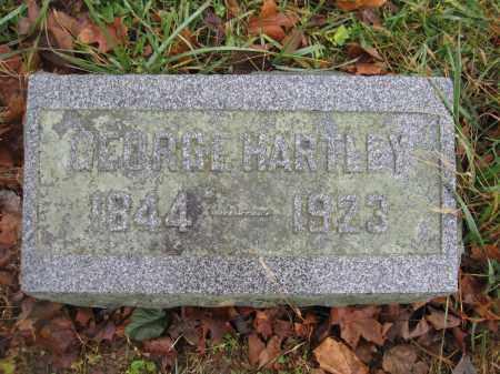 HARTLEY, GEORGE - Union County, Ohio | GEORGE HARTLEY - Ohio Gravestone Photos