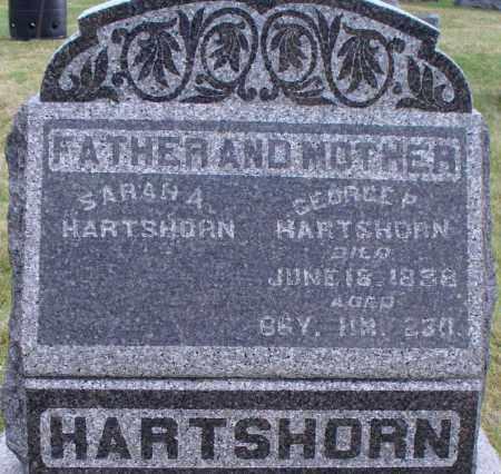 JACKSON HARTSHORN, SARAH A - Union County, Ohio | SARAH A JACKSON HARTSHORN - Ohio Gravestone Photos