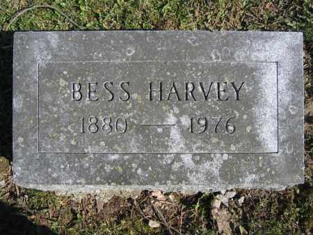 HARVEY, BESS - Union County, Ohio   BESS HARVEY - Ohio Gravestone Photos