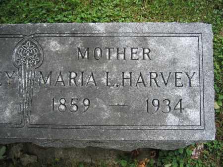 HARVEY, MARIA L. - Union County, Ohio | MARIA L. HARVEY - Ohio Gravestone Photos