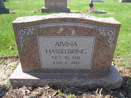 HASSELBRING, ALVINA - Union County, Ohio | ALVINA HASSELBRING - Ohio Gravestone Photos