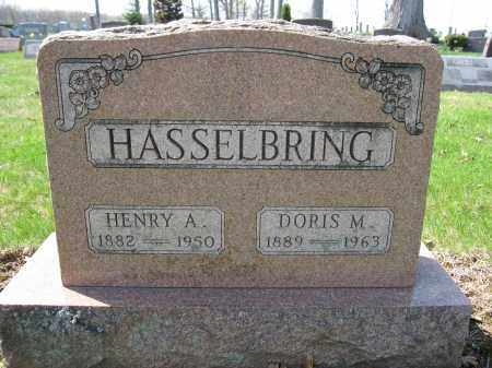HASSELBRING, HENRY A. - Union County, Ohio | HENRY A. HASSELBRING - Ohio Gravestone Photos
