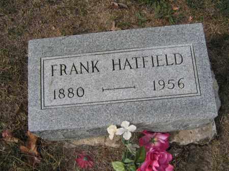 HATFIELD, FRANK - Union County, Ohio   FRANK HATFIELD - Ohio Gravestone Photos