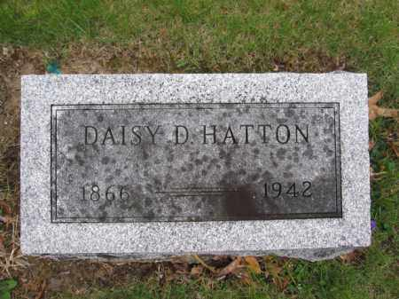 HATTON, DAISY D. - Union County, Ohio | DAISY D. HATTON - Ohio Gravestone Photos