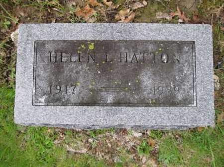 HATTON, HELEN L. - Union County, Ohio | HELEN L. HATTON - Ohio Gravestone Photos