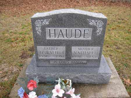 HAUDE, OSWALD - Union County, Ohio | OSWALD HAUDE - Ohio Gravestone Photos