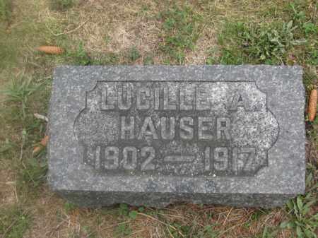 HAUSER, LUCILLE A. - Union County, Ohio | LUCILLE A. HAUSER - Ohio Gravestone Photos