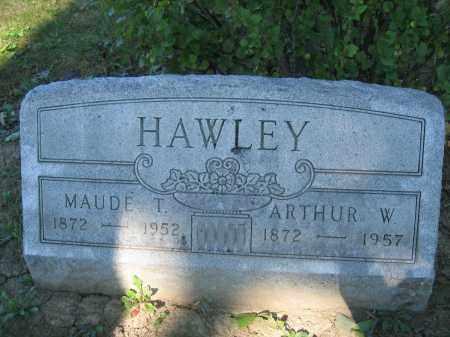 HAWLEY, ARTHUR W. - Union County, Ohio | ARTHUR W. HAWLEY - Ohio Gravestone Photos