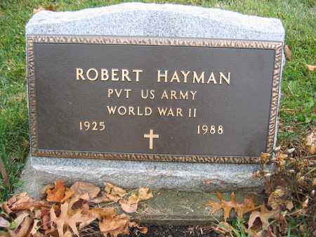 HAYMAN, ROBERT - Union County, Ohio   ROBERT HAYMAN - Ohio Gravestone Photos