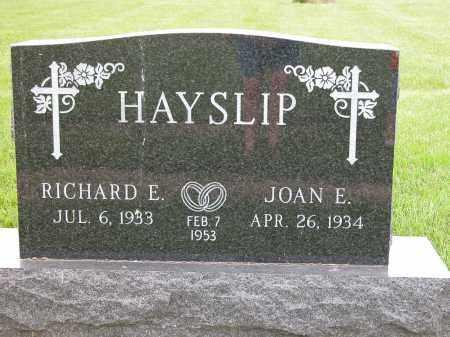 HAYSLIP, JOAN E. - Union County, Ohio   JOAN E. HAYSLIP - Ohio Gravestone Photos