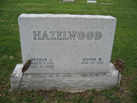 HAZELWOOD, ARTHUR J. - Union County, Ohio | ARTHUR J. HAZELWOOD - Ohio Gravestone Photos