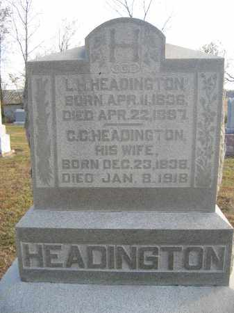 HEADINGTON, L.H. - Union County, Ohio | L.H. HEADINGTON - Ohio Gravestone Photos