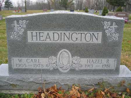 HEADINGTON, HAZEL R. - Union County, Ohio | HAZEL R. HEADINGTON - Ohio Gravestone Photos