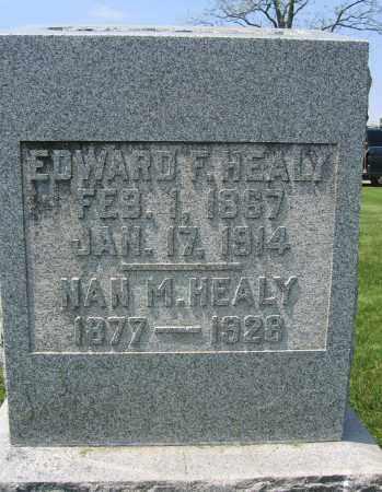 HEALY, NAN M. - Union County, Ohio   NAN M. HEALY - Ohio Gravestone Photos