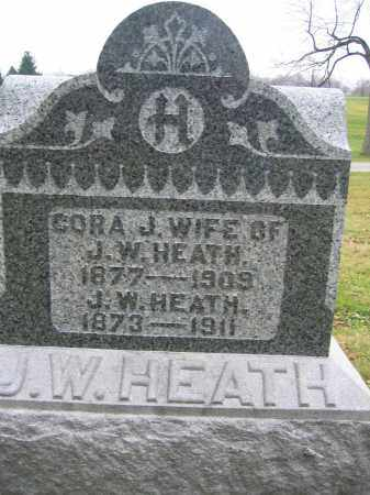 HEATH, CORA J. - Union County, Ohio | CORA J. HEATH - Ohio Gravestone Photos