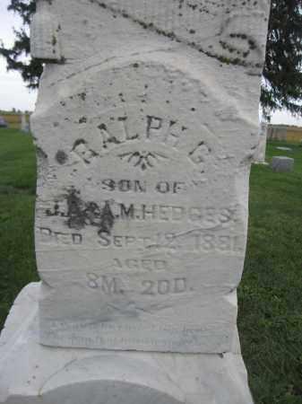 HEDGES, RALPH G. - Union County, Ohio | RALPH G. HEDGES - Ohio Gravestone Photos