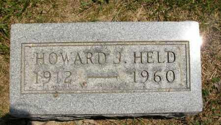 HELD, HOWARD J. - Union County, Ohio | HOWARD J. HELD - Ohio Gravestone Photos