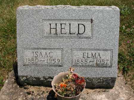 HELD, ISAAC - Union County, Ohio | ISAAC HELD - Ohio Gravestone Photos
