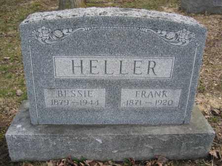 HELLER, FRANK - Union County, Ohio | FRANK HELLER - Ohio Gravestone Photos