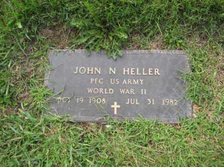 HELLER, JOHN N. - Union County, Ohio | JOHN N. HELLER - Ohio Gravestone Photos
