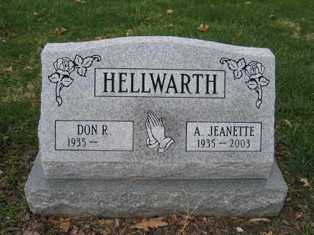HELLWARTH, A. JEANETTE - Union County, Ohio | A. JEANETTE HELLWARTH - Ohio Gravestone Photos
