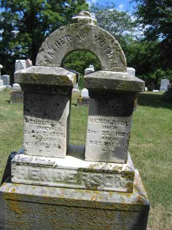 HENDERSON, JAMES - Union County, Ohio | JAMES HENDERSON - Ohio Gravestone Photos