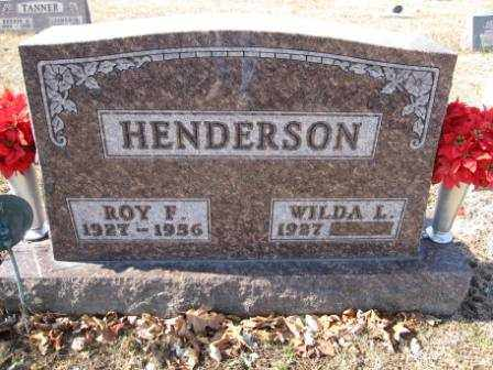 HENDERSON, WILDA L. - Union County, Ohio | WILDA L. HENDERSON - Ohio Gravestone Photos