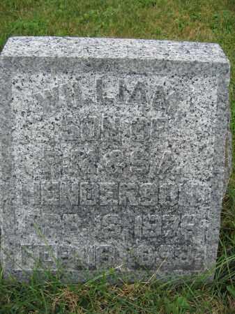 HENDERSON, WILLIAM - Union County, Ohio   WILLIAM HENDERSON - Ohio Gravestone Photos