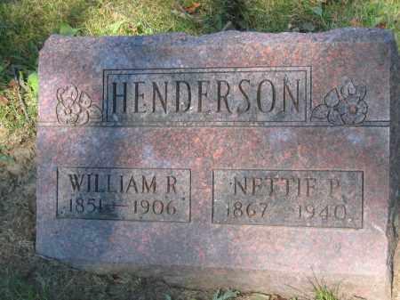 HENDERSON, NETTIE P. - Union County, Ohio   NETTIE P. HENDERSON - Ohio Gravestone Photos