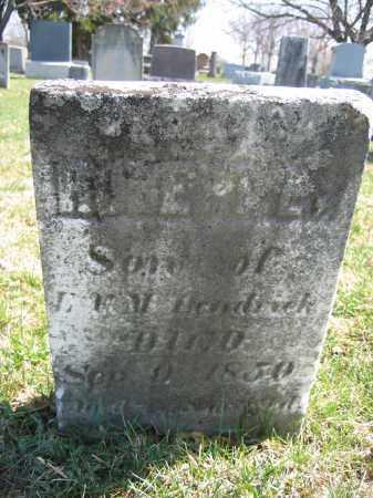 HENDRICK, ROBERT - Union County, Ohio   ROBERT HENDRICK - Ohio Gravestone Photos