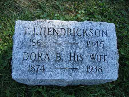 HENDRICKSON, DORA B. - Union County, Ohio | DORA B. HENDRICKSON - Ohio Gravestone Photos