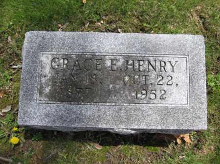 HENRY, GRACE E. - Union County, Ohio | GRACE E. HENRY - Ohio Gravestone Photos
